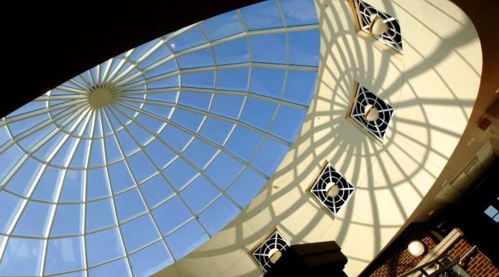 EKU Business & Technology Center dome